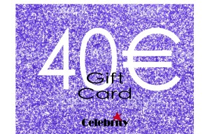 GIFTCARD 40 CELEBRITY