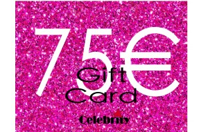 GIFTCARD 75 CELEBRITY