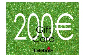 GIFTCARD 200 CELEBRITY