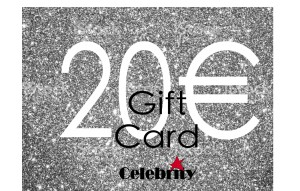 GIFTCARD 20 CELEBRITY