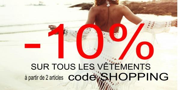 -10% sur la nouvelle collection